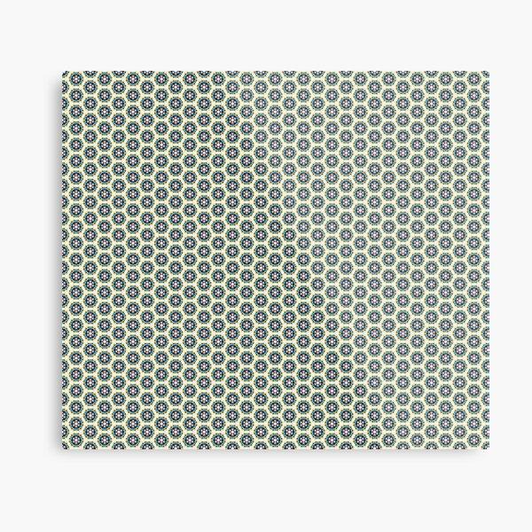 Pattern Pattern Retro Modern Abstract Design # 41 Metal Print