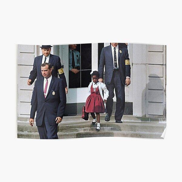 Ruby Bridges, Escorted  Poster