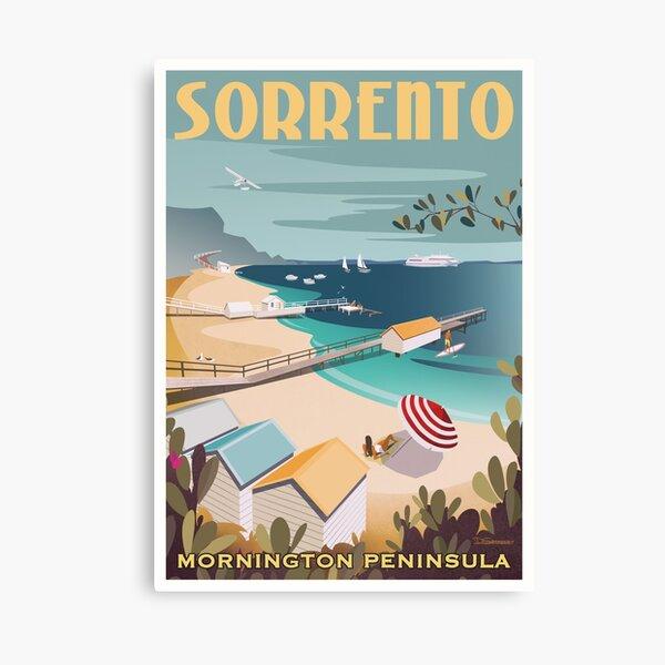 Sorrento Vintage-style Travel Poster Canvas Print