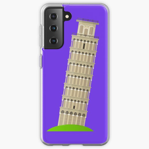 pisa tower Samsung Galaxy Soft Case