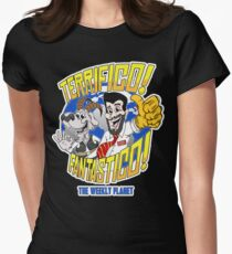 The Weekly Planet Are 'Terrifico! Fantastico!' Womens Fitted T-Shirt