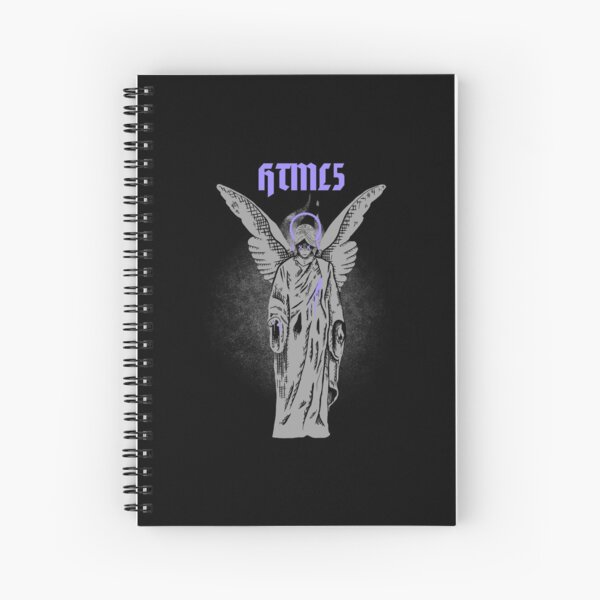 HTML dark_concept Spiral Notebook