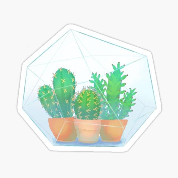 Cactus Terrarium Sticker