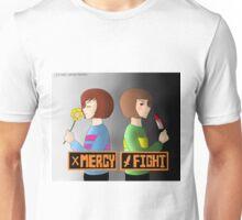 undertale mercy/fight merchandise Unisex T-Shirt