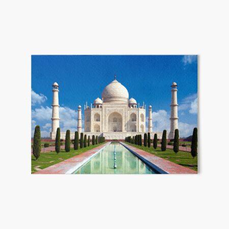 The Taj Mahal Art Board Print