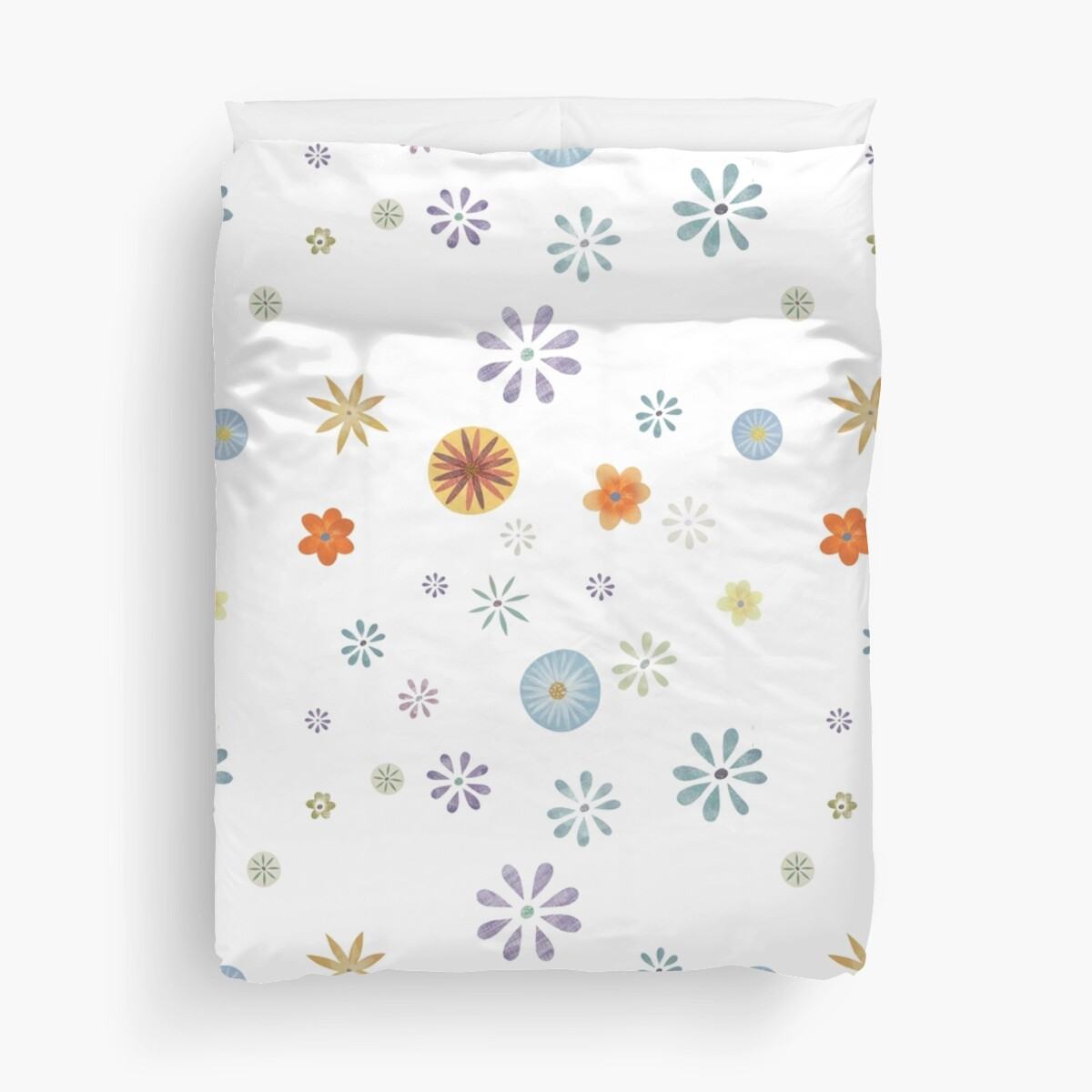Flower Spray White XL by Sandra Dionisi