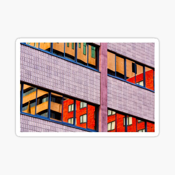 Architectural Abstract #3 Sticker