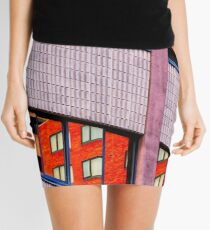 Architectural Abstract #3 Mini Skirt