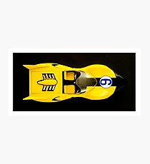 The Shooting Star Racer Xs Number 9 Race Car Photographic Print
