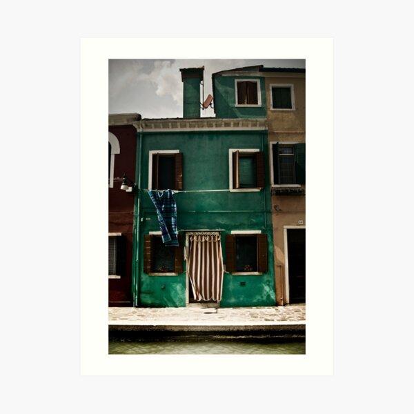 Burano, Venice Art Print