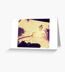 magpie sun Greeting Card