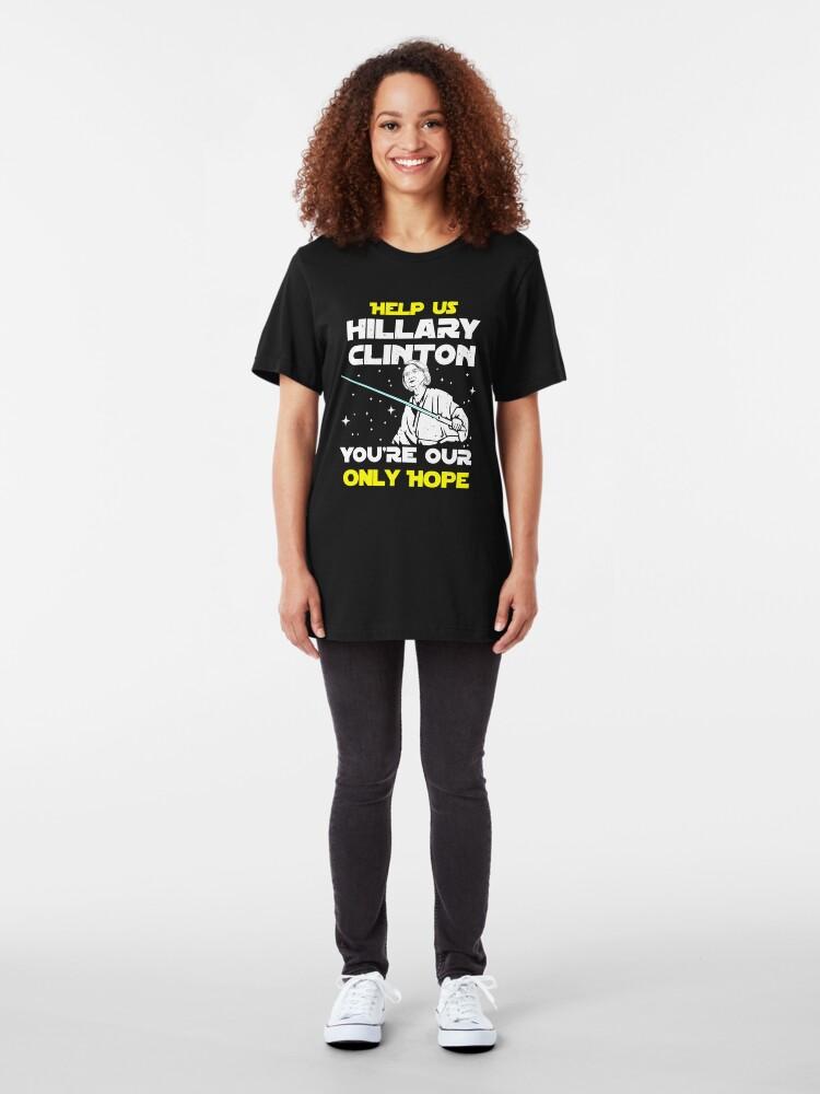 Alternative Ansicht von Rette uns Hillary! Slim Fit T-Shirt