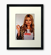Kate Moss Framed Print