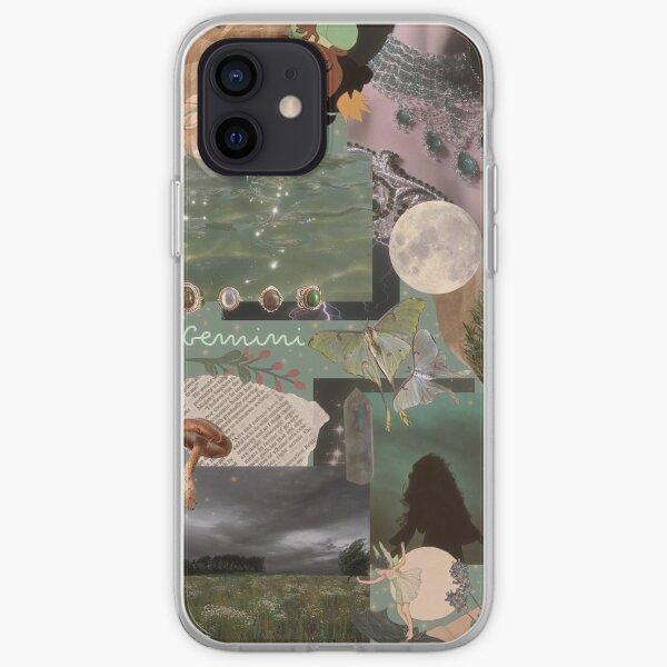 Gemini Fantasy Aesthetic Collage Phone Case iPhone Soft Case