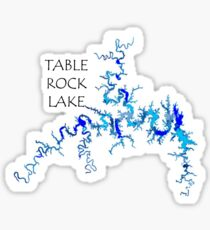 Pegatina Table Rock Lake