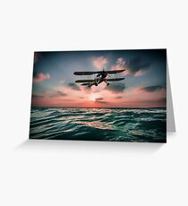 Swordfish Torpedo Bomber Greeting Card