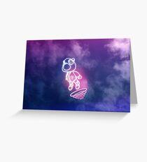 Kanye West Graduation Bear Greeting Card