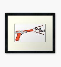 Cute Nes gun Framed Print