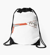 Cute Nes gun Drawstring Bag