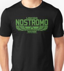 NOSTROMO ALIEN MOVIE STARSHIP (GREEN) Unisex T-Shirt