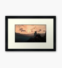 3D Landscape : Savannah - Adventure Framed Print
