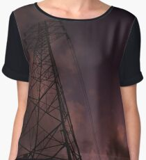 Electricity of the world Women's Chiffon Top