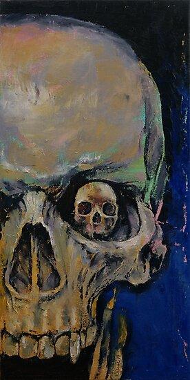 Vampire Skull by Michael Creese