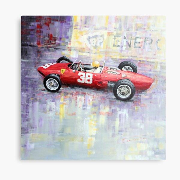 1962 Ricardo Rodriguez Ferrari 156 Metal Print