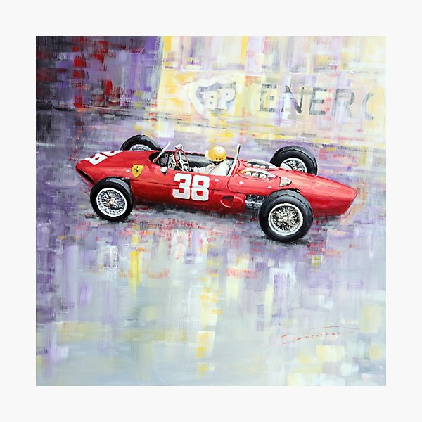 1962 Ricardo Rodriguez Ferrari 156 Photographic Print