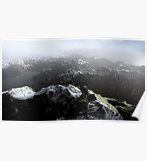 3D Landscape : Sky Fly - The Lake Poster