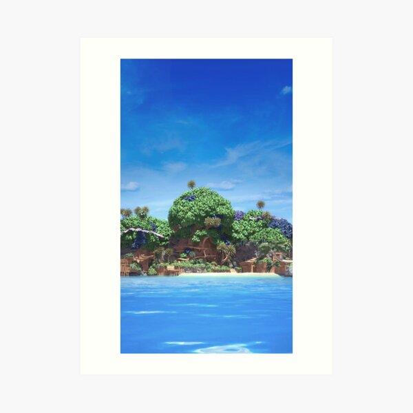 Kingdom Hearts - Destiny Islands Art Print