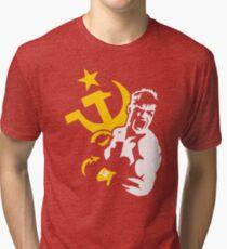 IVAN DRAGO - ROCKY IV Tri-blend T-Shirt