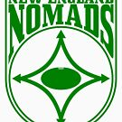Nomads shield, full chest, green by nomads