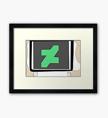 Deviantart Photographer Light Skin Framed Print