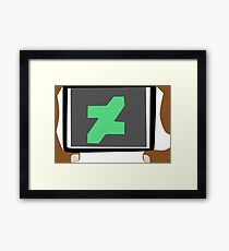 Deviantart Photographer Dark Skin Framed Print