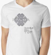 KARMA goes on TOP Men's V-Neck T-Shirt