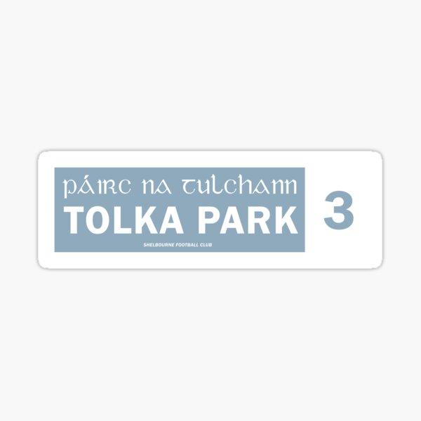TOLKA PARK - STREET SIGN Sticker