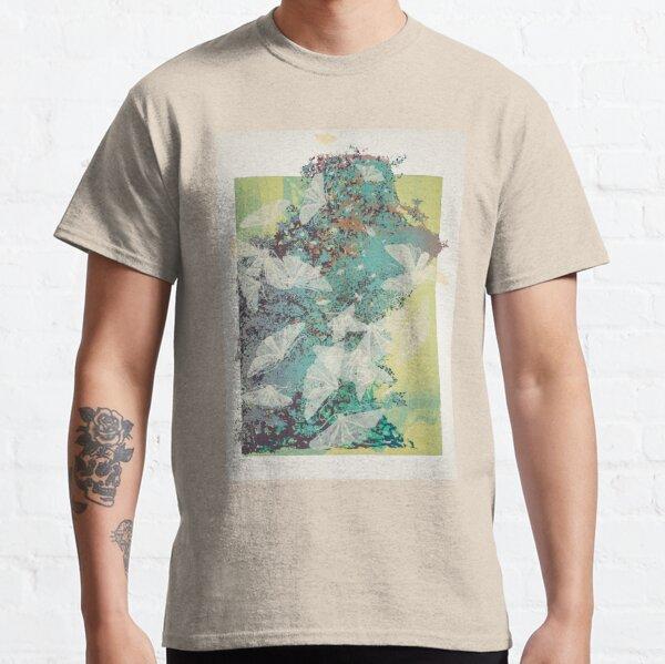 White Moth Tangle in Summertime Classic T-Shirt