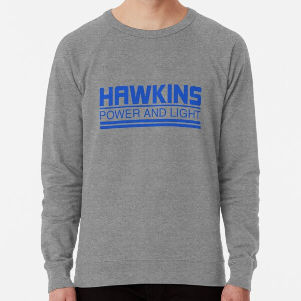 Hawkins Power and Light Stranger Things Men/'s Tee Shirt 1731
