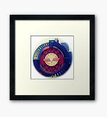 Journey Into Imagination Sign from EPCOT at Walt Disney World Framed Print