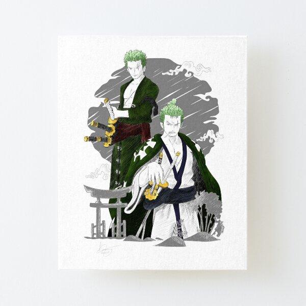 One Piece- Zoro Roronoa Lámina montada de lienzo