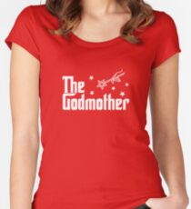 The Godmother  Women's Fitted Scoop T-Shirt