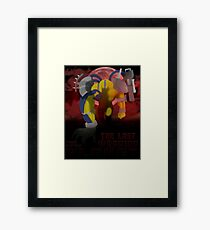The Last Warrior From Another Planet - Yu-Gi-Oh! Framed Print