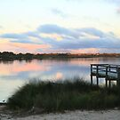 At Sunset - Bibra Lake, Western Australia by Karen Stackpole