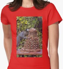Extermi-Nut! Womens Fitted T-Shirt