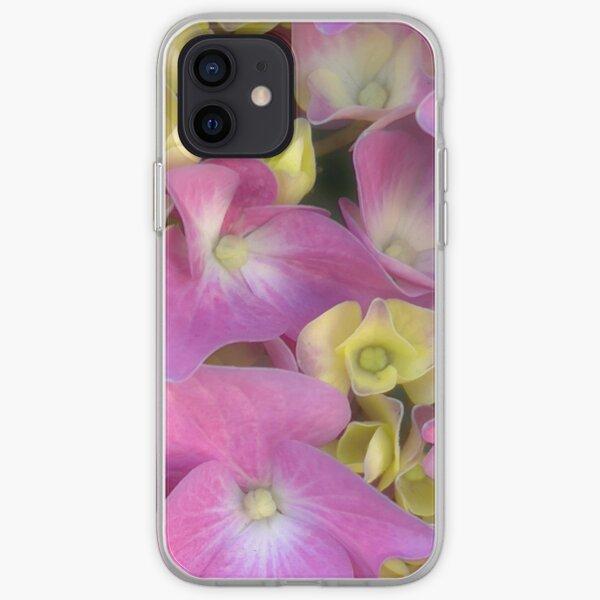 Hydrangea Romance iPhone Soft Case