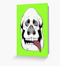 Numbskull Greeting Card