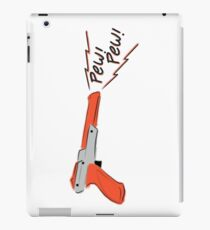 Cute Nes gun rotation  iPad Case/Skin