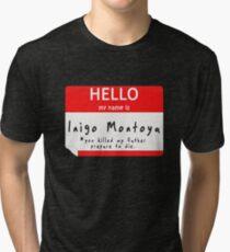 Introduction to Inigo Tri-blend T-Shirt