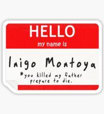 Introduction to Inigo Sticker